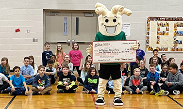 This School Won $10,000 for Arts Education From Frigo Cheese Heads; We Helped Make It Happen